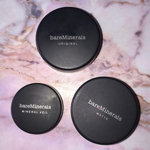 bareMinerals makeup trio